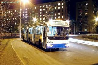 31 августа в городе начнут работать ночные трамваи, автобусы и троллейбусы