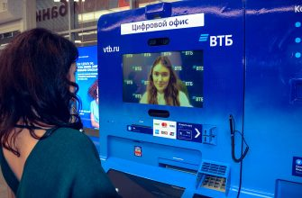 Видеобанкомат ВТБ банкомат