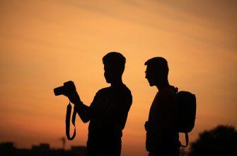 турист фотограф