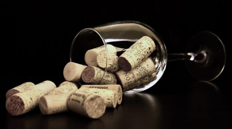 вино, пробки, алкоголь