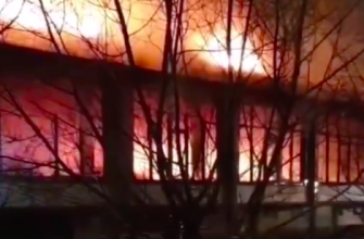 пожар бассейн