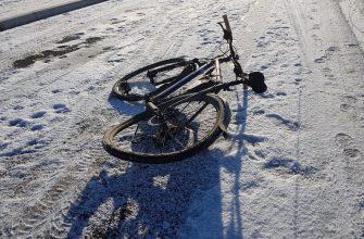 Поврежденный велосипед активиста. Мичуринский проспект 30Б. Фото предоставлено активистами
