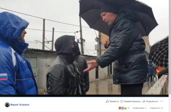 Владелец гаража на Пантеелевской 26. Фото: скриншот видео с личной страницы Марии Чуприной, Facebook