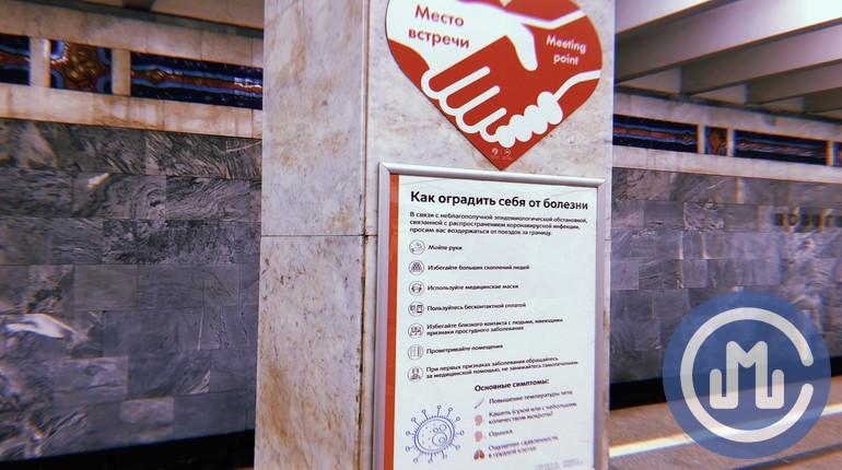 метро. коронавирус