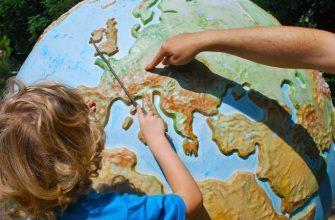 ребенок школа учеба урок дети глобус