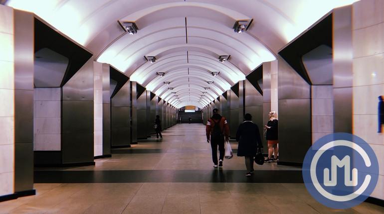 "Станция метро ""Сретенский бульвар""."