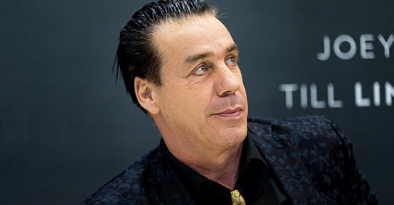 Фронтмен группы Lindemann Тилль Линдеманн