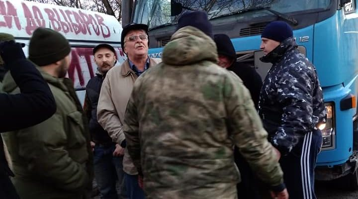 Улица Ивана Франко 20. Фото прелосатвлено активистами