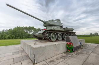 Т-34 в Бородинском музее-заповеднике. Фото: сайт Музея-заповедника «Бородинское поле»