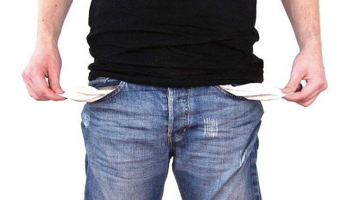 безработица бомж пустые карманы