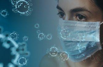 коронавирус девушка маска сиз