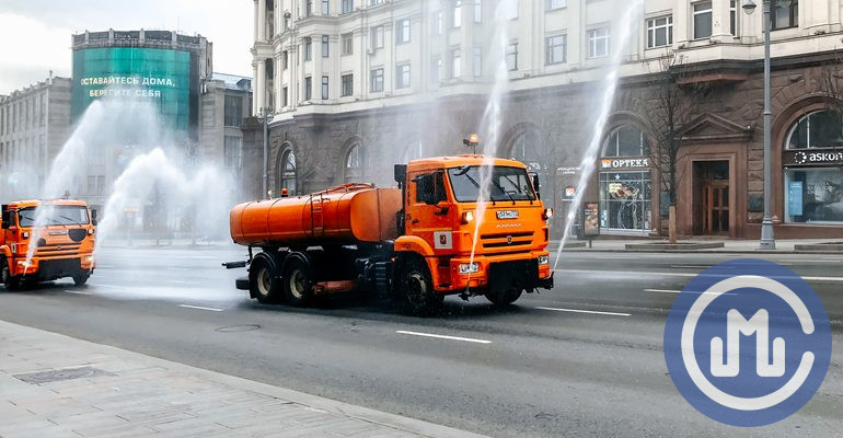дезинфекция уборка улиц