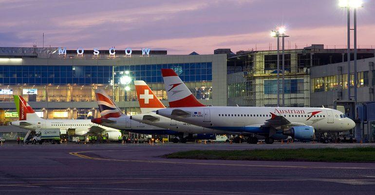 аэропорт самолет домодедово Austrian