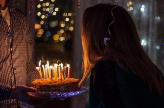 день рождения др торт свечи