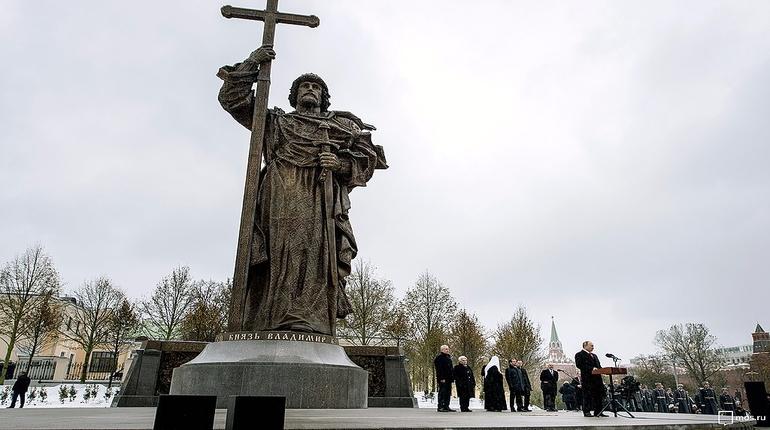 памятник князю владимиру