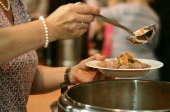 еда столовая суп