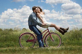велосипед любовь пара