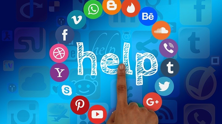 соцсети, социальная сеть, помощь, техподдержка