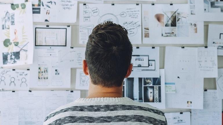мужчина работа творчество обучение бизнес дизайнер