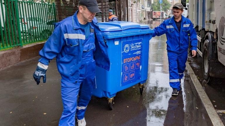 мусор, отходы, переработка, дворник