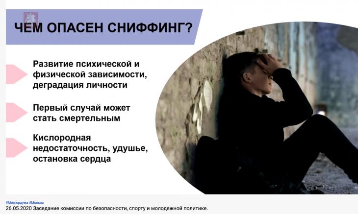 Фото: скриншот заседания комиссии по безопасности, спорту и молодежной политике.