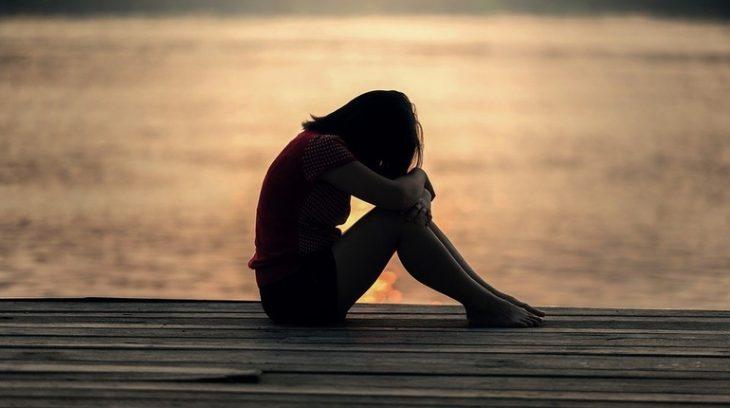 подросток дети закат грусть