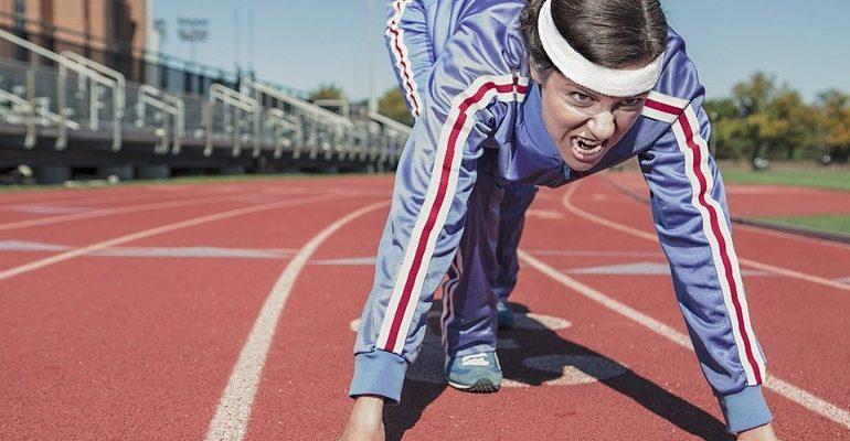 тренировка бег спорт