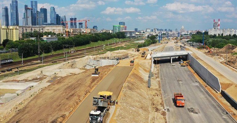 строительство стройка проспект Дорохова