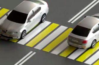 пешеходный переход желтые полосы