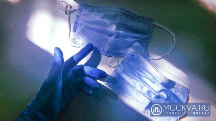 медицинская маска, перчатки, сизы, коронавирус