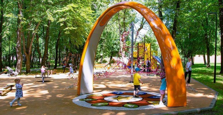 детская площадка музыка инструменты