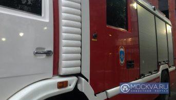 Один человек погиб в ходе тушения пожара в квартире на юге Москвы