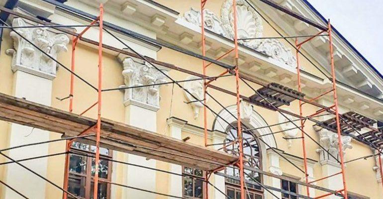реставация стройка усадьба Гусева Полоса