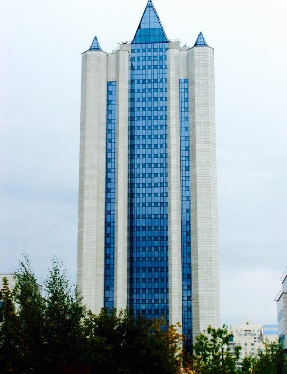 "Штаб-квартира ""Газпрома"". Фото: wikipedia.org"