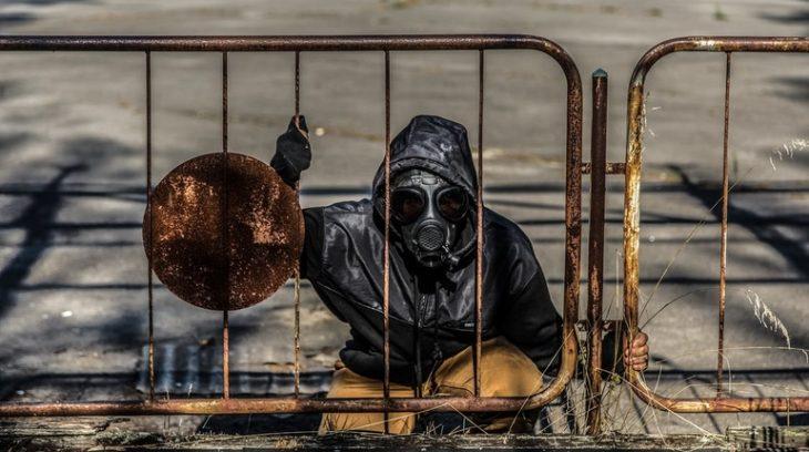 противогаз апокалипсис химия биотерроризм