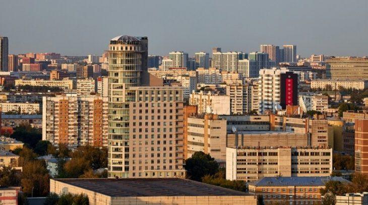 москва город здание