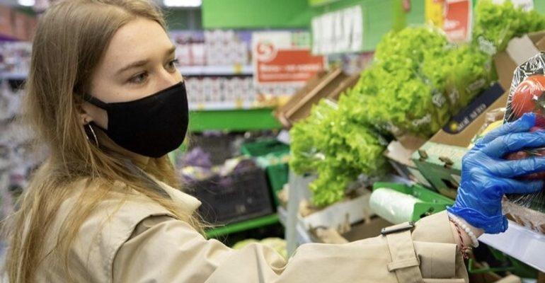 волонтер магазин продукты