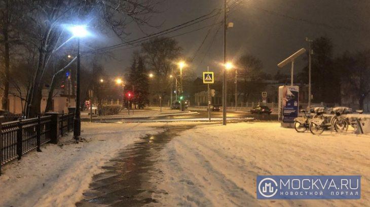снег останкинский район погода