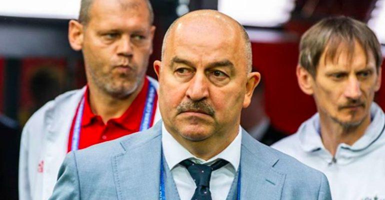 Черчесов сборная России