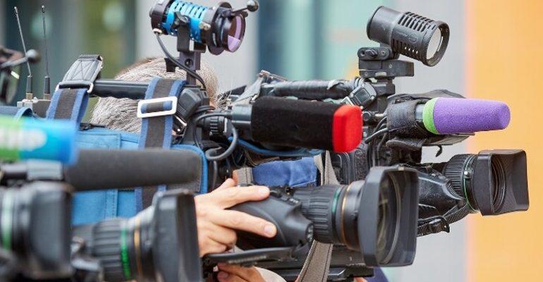журналист камера медиа технологии съемка
