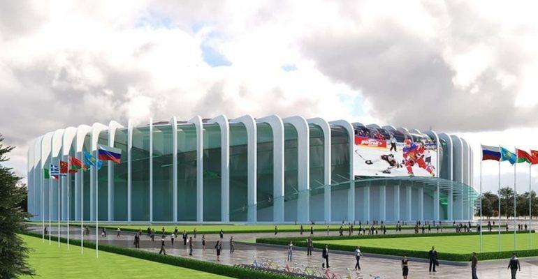 Проект хоккейного стадиона СКА Арена в Санкт-Петербурге. Фото: Википедия