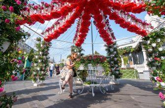 цветочный джем парк архитектура