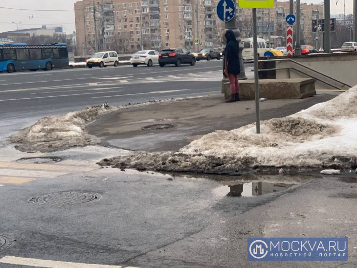 "Слякоть. Фото: ""Москва.ру""/ Альбика Халидова."