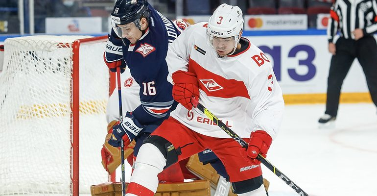 Спартак Москва хоккей