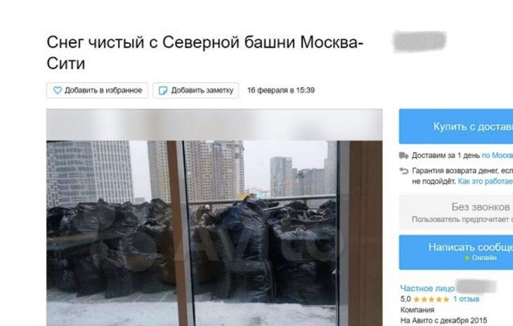 Объявление на Авито. Фото: скриншот с avito.ru