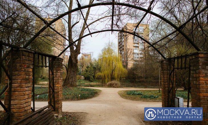 ботанический сад весна аптекарский огород
