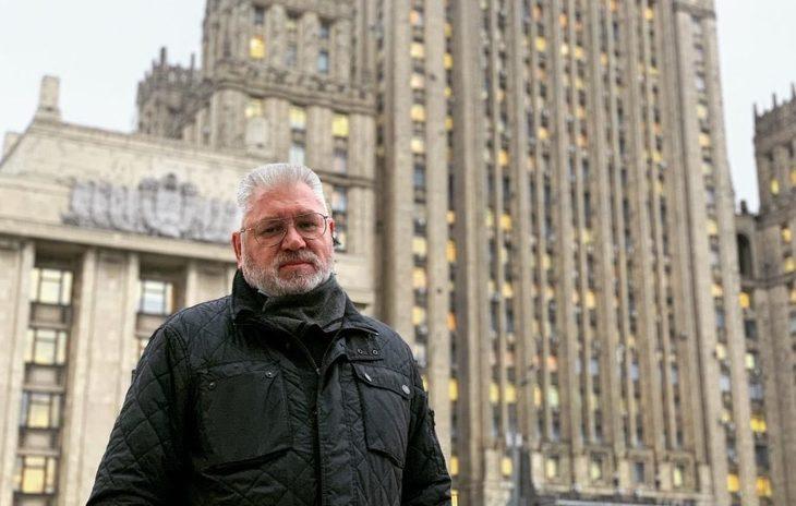 Глава муниципального округа Арбат Евгений Бабенко. Фото: Facebook