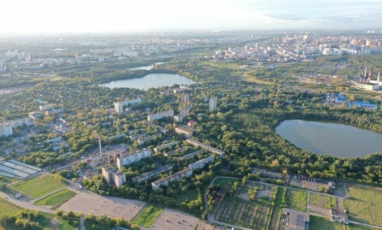 Косинские озера. Фотографии предоставлены Аппаратом Совета депутатов МО Косино Ухтомский