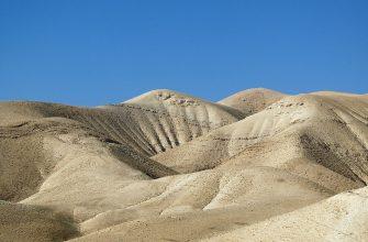 Израиль пустыня песок