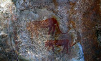 В итальянской пещере археологи нашли наскальную живопись каменного века